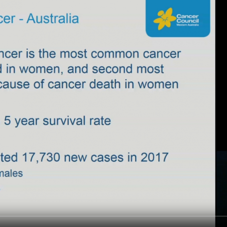 Breast Cancer GP Education Video Cancer Council WA