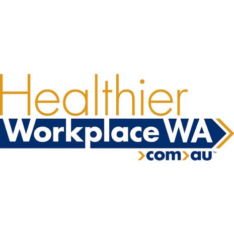 Healthier Workplace WA logo
