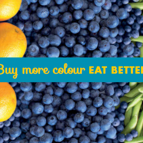 LiveLighter Buy More Colour Eat better