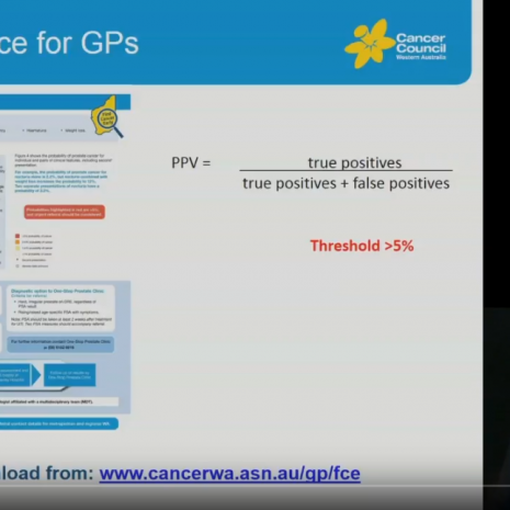 Prostate Cancer GP Education Video Cancer Council WA