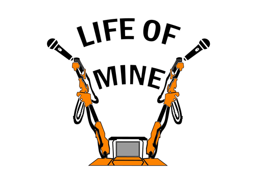 Life of Mine podcast logo